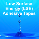 Low Surface Energy Adhesive Tapes